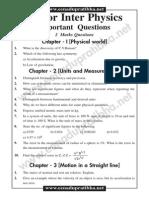 Jr Inter Important Question Physics(E.M)