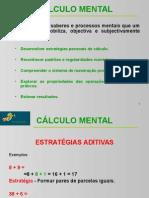 Calculo Mental Estrategias