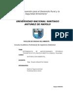 microbiológica de los residuos sólidos Del Botadero