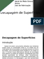 Decapagem de Superficies