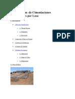 Construcción de Cimentaciones Superficiales Por Losa