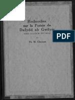 Poesie Gwilyn
