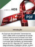 Slids da Palestra DST/AIDS