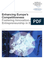 WEF EuropeCompetitiveness FosteringInnovationDrivenEntrepreneurship Report 2014