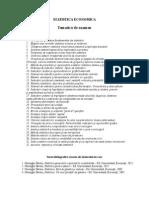 Tematica Examen Statistica 2014-2015