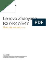 Guia de Usuario Lenovo E47G