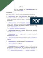 Adenoma y Adenocarcinoma.