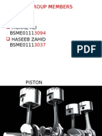 Piston Manufacturing process