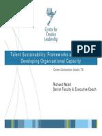 Talent Sustainability Walsh
