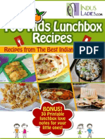 100 Kids Lunchbox Recipes Book