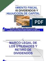 Tratamiento fiscal de dividendos y capital 2006