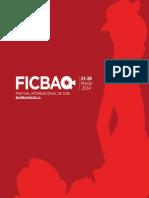 Catalogo FICBAQ 2014