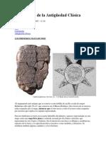 Cartografía de La Plena y Baja de La Edad Media