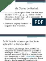 El Sistema de Clases de Haskell