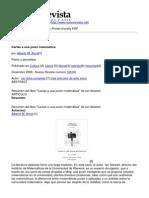Nueva Revista - Cartas a Una Joven Matematica