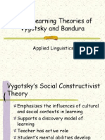 Bandura and Vygotsky Social Learning