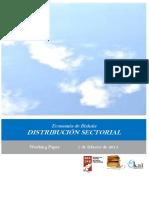 Economía de Bizkaia. DISTRIBUCION SECTORIAL