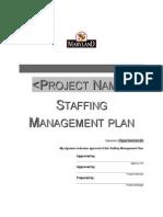 Studiu Caz Staffing Management Plan