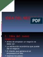 Pautas Para Elaborar La Idea de Negocio