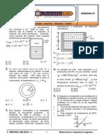 Calorimetría - Termodinámica - Electrostática