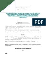 4 Decizie de Incetare CIM Indeplinirea Conditiilor de Pensionare