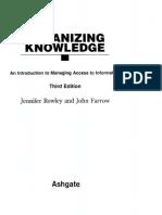 Rowley_Organizing Knowlegde