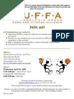 flier PUFFA Full Alliance Meeting 04 16 2008