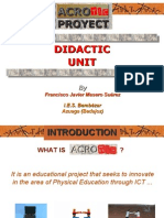 Didactic Unit AcroTIC Presentation