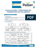 Lenguaje_S2_Morfologia y Procesos de Formacion de Palabras