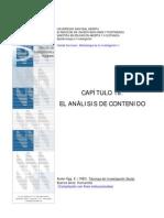 EL ANÁLISIS DE CONTENIDO