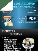 contabilidad gubernamental - patrimonio