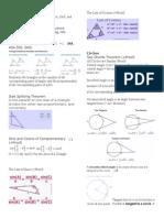 theorem sheet geom