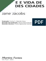 JACOBS, JANE - Morte e Vida Nas Grandes Cidades (1)