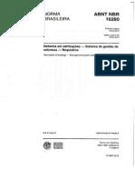 Nbr 16280 - 2014 - Reformas Em Edificações - Sistema de Gestão de Reformas - Requisitos