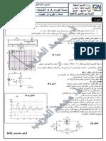 متوالية  RlC سلسلة الفيزياء التذبذبات الحرة في دارة