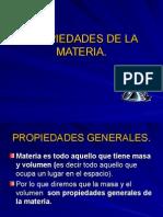 Propiedades de La Materia - Química General