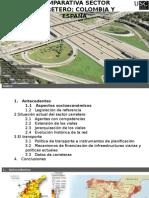 Comparación Transporte España y Colombia