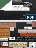 TAREA N 3 - Derecho Penal II -  Esquemas sobre