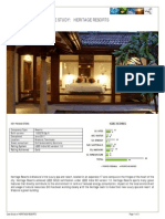 Heritage Resorts Case Study