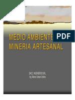 Medio Ambiente Mineria Artesanal
