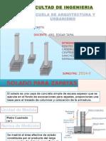 Bases de Concreto Construcciones