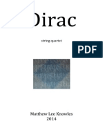Dirac [string quartet]