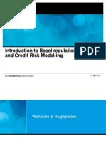 Introduction to Basel Regulation and Credit Risk Modelling