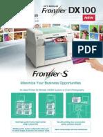 FrontierS DX100 Brochu