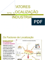Fatores Localização Industrial