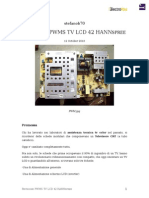 revisione pwms tv lcd 42 hannspree