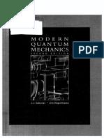 Modern Quantum Mechanics 2nd Edition (Sakurai)