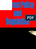antitrust policy and regulation