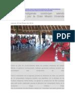 Pueblos Indígenas Continúan Siendo Beneficiados Por La Gran Misión Vivienda Venezuela