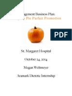 weltmeyer managementbusinessplan